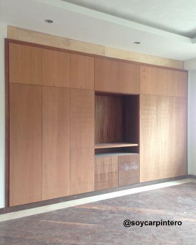 Closet / vestier a medida carpintero / carpintería