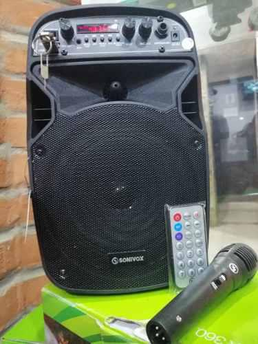 Corneta amplificada sonivox con micrófono 6.5