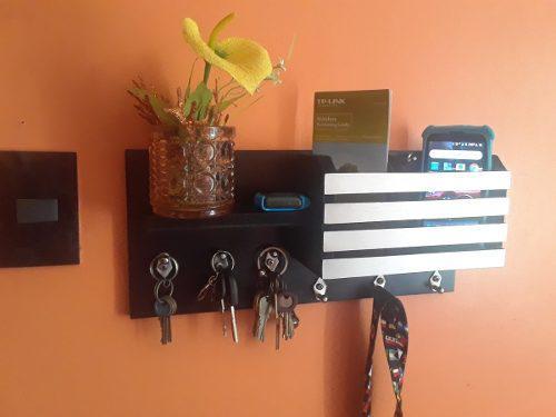 Porta llaves minimalista en m.d.f laminado