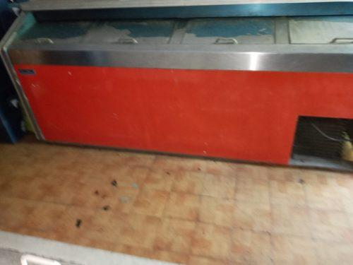 Enfriador refrigerador freezer 4 puertas de fibra de vidrio
