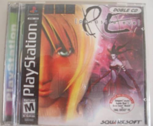 Juego original playstation 1 parasite eve
