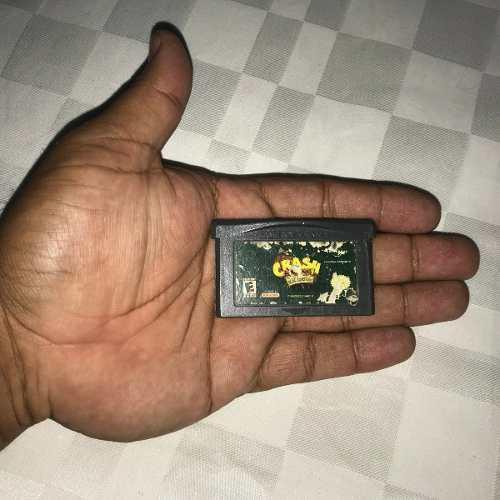 Juegos nintendo gba game boy advance 5v crash bandicoot