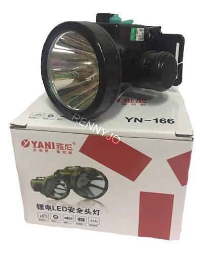 Linterna Yani-166 Original Recargable Minero