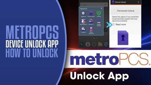 Apertura de bandas liberación metro pcs app devices