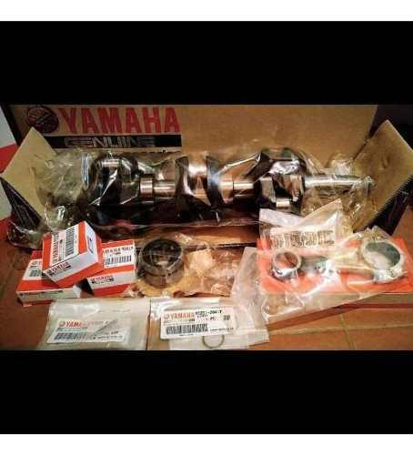 Combo de cigüeñal completo motor 75 yamaha