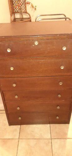 Gavetero de madera 6 gavetas
