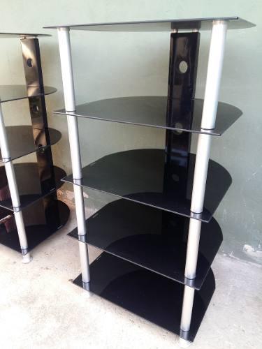 Juego de mesa tipo modular multiuso vidrio templado 3 piezas
