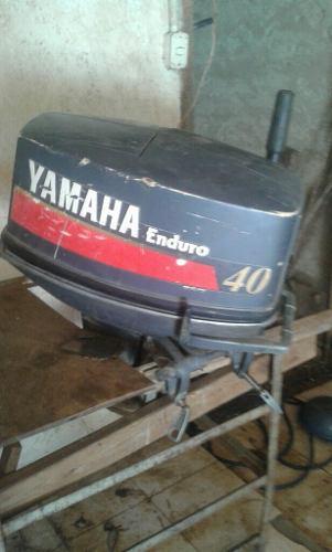 Motor enduro yamaha 40 hp fuera de borda