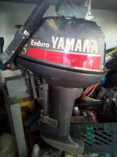Motor yamaha 15 hp enduro fuera de borda pata larga