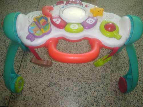 Hermosa andadera multifuncional para bebes perfecto estado