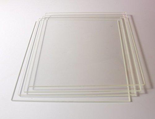 Impresora 3d vidrio silicato build placa para cama