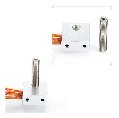 Kamo extrusor montado pieza hot end para impresora 3d