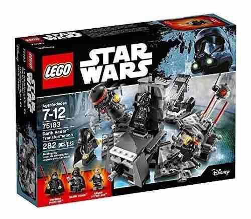Lego star wars darth vader 75183 (ccs y val) 30v