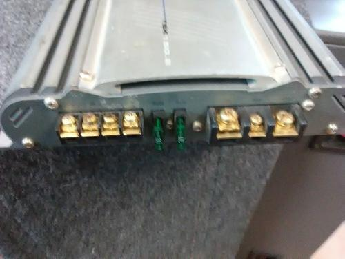 Amplificador de carro mar croosfire 2 canales...