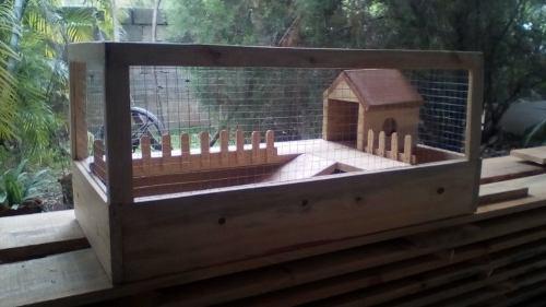 Casa para mascotas erizos,cobayos etc