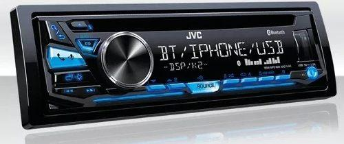 Radio reproductor jvc kd-sr83bt bluetooth usb cd 60d