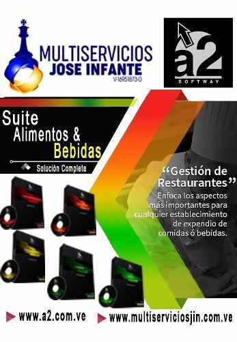 Sistema a2 suite alimentos&bebidas (ideal para restaurantes)