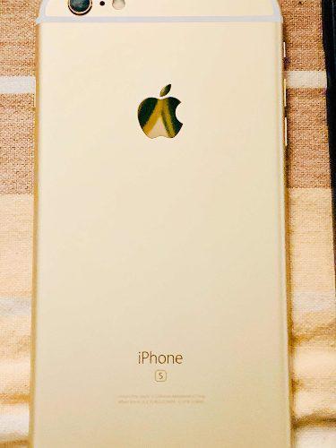 Iphone 6s plus gold 128gb liberado forro vidrio templado