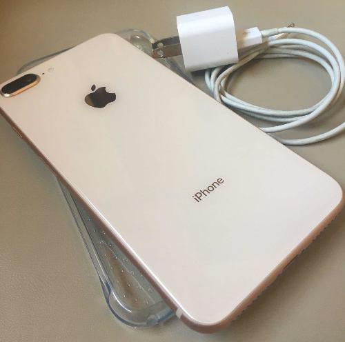 Iphone 8 plus gold 64gb liberado. sin detalles
