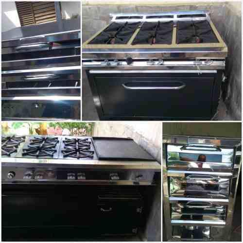 Cocina y horno industrial nuevos a estrenar