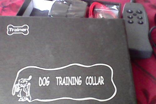 Collar profesional de entrenamiento canino.