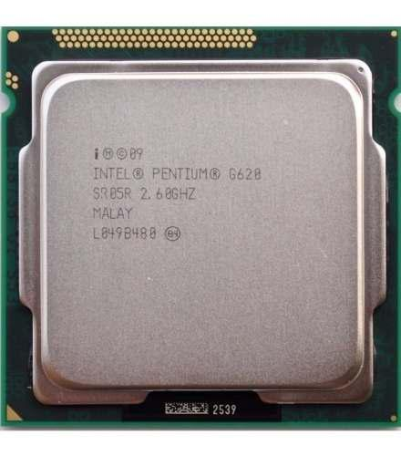 Procesador intel dual core g620 2.6ghz 3m caché socket 1155