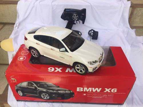 Carro a control remoto bmw x6 40verdes
