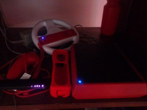 Wii rojo