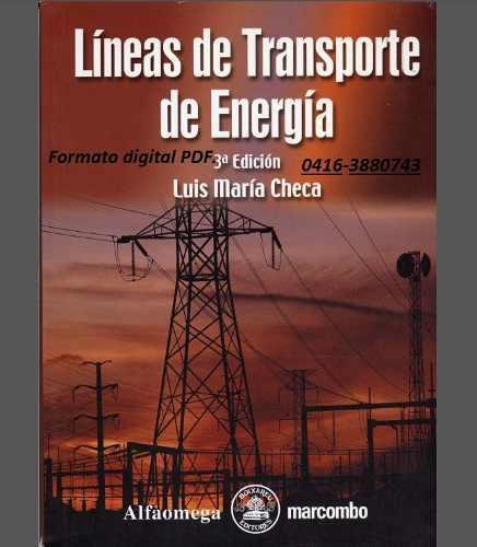 7 libros de lineas de transmisión eléctrica pdf