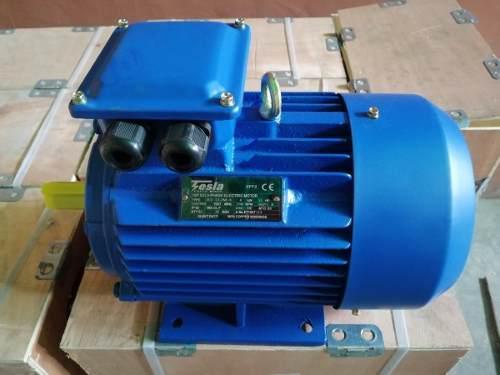 Motor eléctrico trifásico 5,5 hp 1750 rpm tesla electric