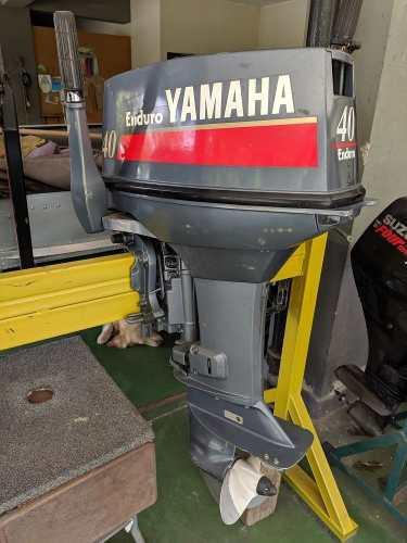 Motor fuera borda yamaha 40hp pata corta poco uso ($3.100)