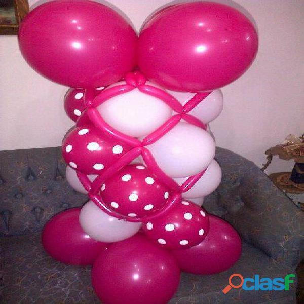 Cursos en Decoracion con globos 1
