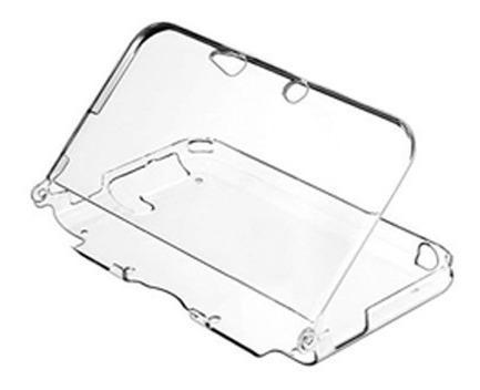 Protector acrilico carcasa transparente para nintendo 3ds