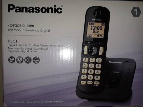Telefono inalambrico digital panasonic kx-tgc210