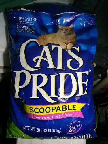 Arena Para Gatos Cats Pride 9kg/ 30 Dls.