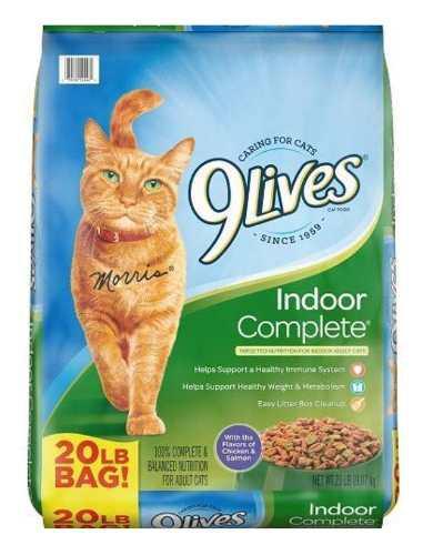 Descripción9lives Interior Complete Comida Para Gatos