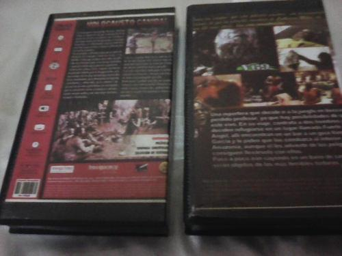 Película En Vhs Usadas Caníbal Holocausto 1 Y 2 Únicas