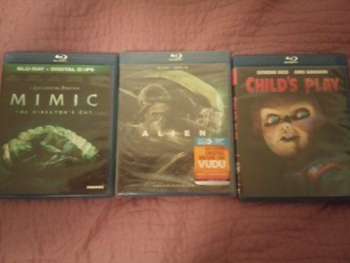 Películas Originales Blu-ray De Colección Se Vende El