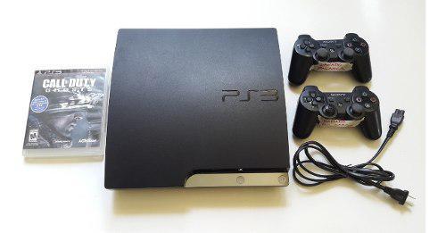 Playstation 3 ps3 160gb + juego + 2 controles