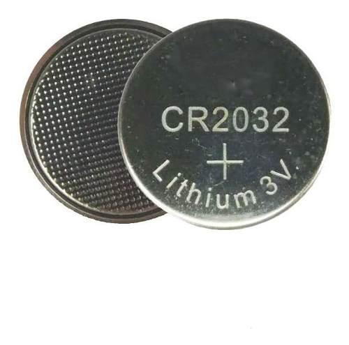 Bateria pila cr2032 3v plana boton pc reloj control 25 pcs