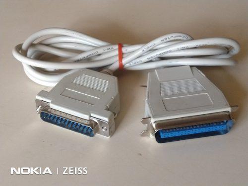 Cable Datos Paralelo Lpt1 Impresora Computacion Db25 A Cn36