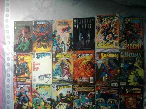 Cómics originales dc y marvel batman superman flash