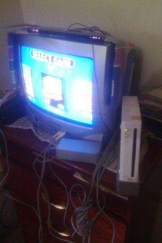 Consola de video juegos wii