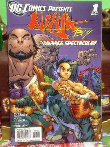 Dc comics presents ninja boy 100-page spectacular