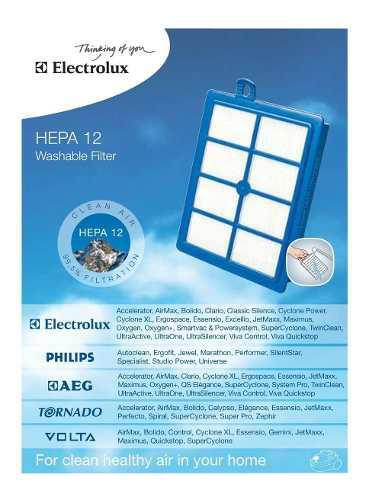 Flitro De Aspiradora Electrolux
