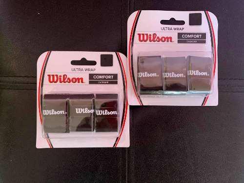 Grip Wilson 3 Pack Overgrip Negro (12 Us)
