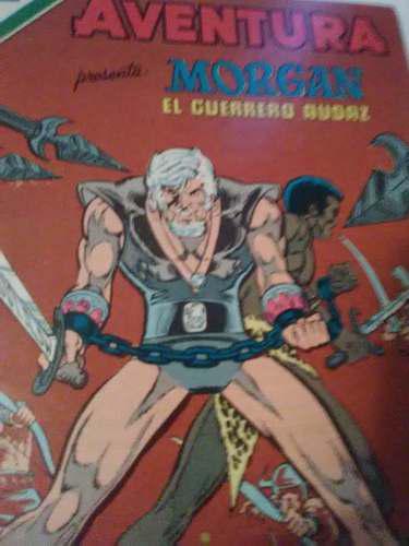 Morgan, el gladiador, luchando en la arena de la muerte.