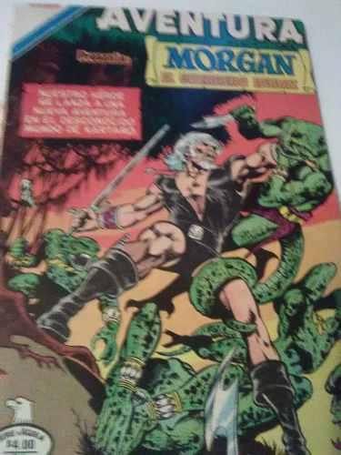 Morgan lucha por su vida, desde el centro de la tierra.