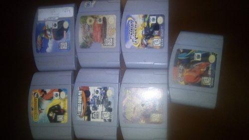 Paquete De Juegos De Carreras De N64 Con Las 3b!!!
