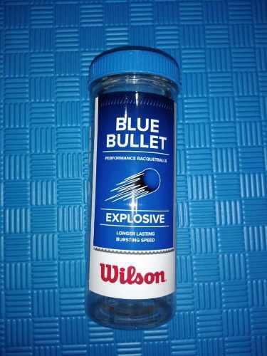 Pelotas tenis wilson azules empaque 3 kt co8